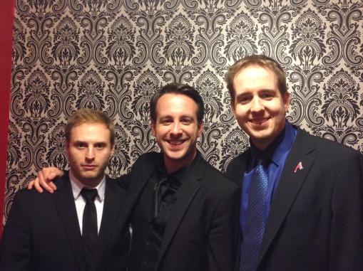 with Ben Train & Vincent Hedan