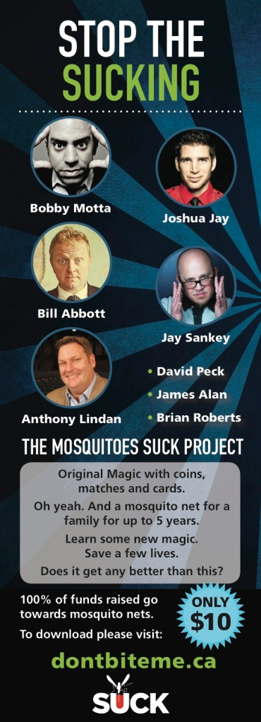 Mosquitoes Suck Project
