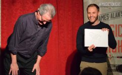 Ben Train's critics react to his artistic talents