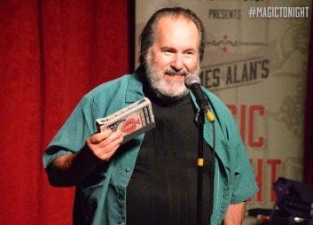 Glenn Ottaway actually does a magic trick