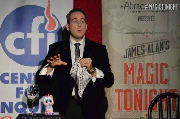 James Alan making faces